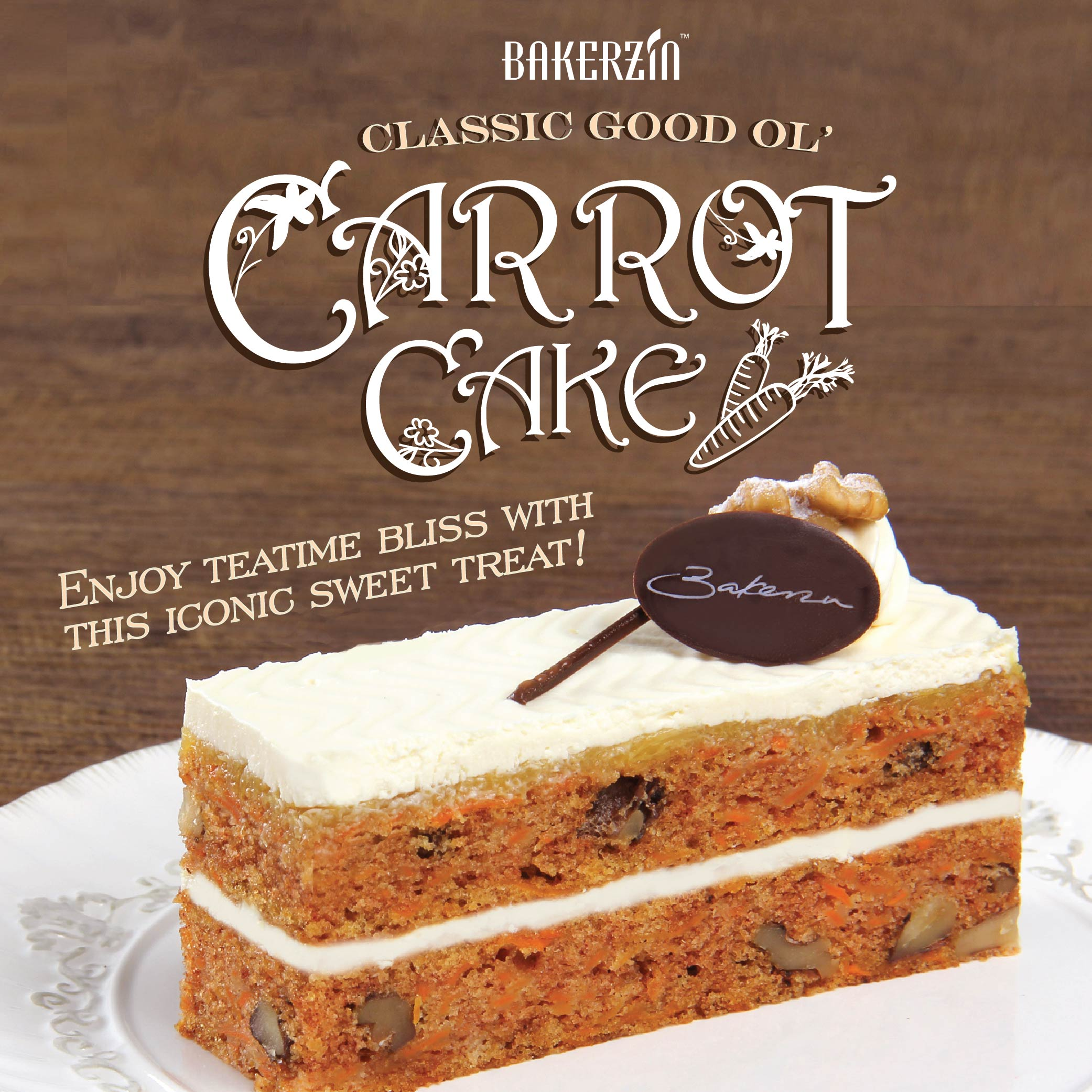 April S Cake Of The Month Classic Good Ol Carrot Cake
