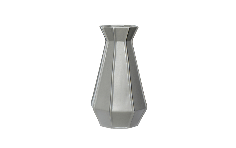 GREY CERAMIC VASE - LARGE