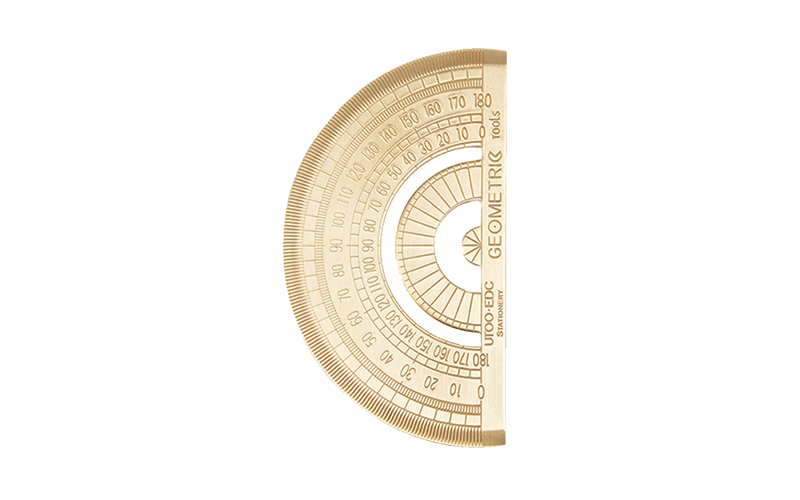 GOLD PROTRACTOR