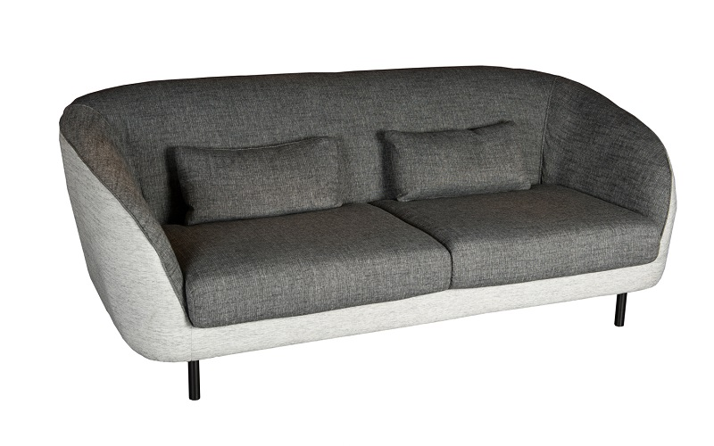 SOFIAH 3-SEATER FABRIC SOFA
