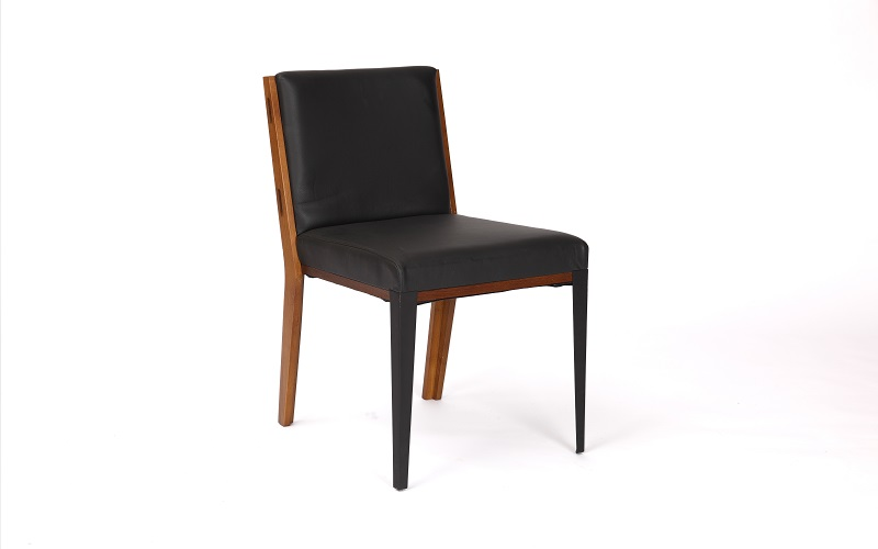 TUSK SIDE CHAIR - LEATHER